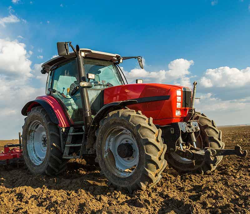 Changement de vitrage de tracteur pres de Tourcoing
